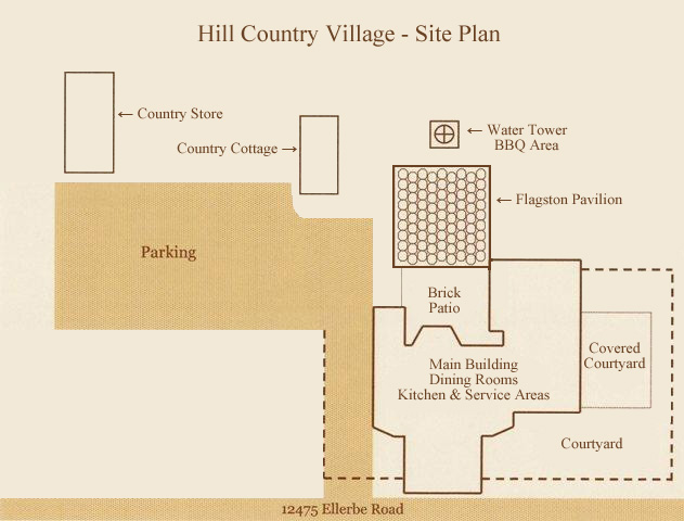 wedding venue site plan